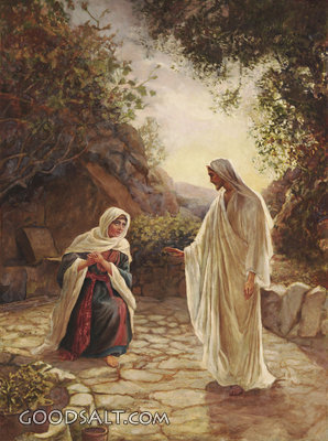 Jesus Reveals Himself to Mary Magdalene