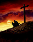 Calvary, Sunset