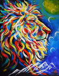 Lion of Judah Bringing Warmth