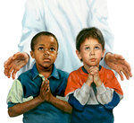 Two Boys in Prayer