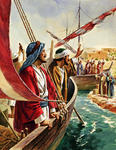 Paul and Barnabas Set Sail