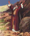 Moses Praying for Israel