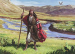 Abraham Walks Through the Land