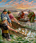 Peter Trusted Again and the Draught of Fishes