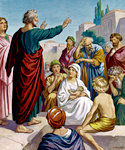 Peter's Sermon at Pentecost
